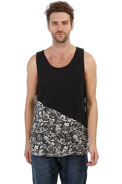 Майка DC Bloomington Tan Black Regal Rags<br><br>Цвет: черный,белый<br>Тип: Майка<br>Возраст: Взрослый<br>Пол: Мужской