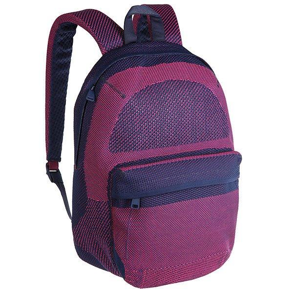 Рюкзак городской Herschel Lawson Apex Knit Medieval Blue/Pink YarrowНоваторский дизайн в рюкзаке Apex Lawson сочетает в себе классический стиль и современные технологии в ткани ApexKnit™. Четко выстроенная форма и прогрессивная эстетика заключена в практически бесшовном силуэте с тонкими фирменными акцентами.Технические характеристики: Технологичная ткань ApexKnit™.Карман для ноутбука 15 из неопрена с органайзером.Передний карман на молнии.Ремни из двойной пены EVA и спинка из сетки.Безопасные регулируемые ремни и усиленная ручка для переноски.Дизайн BHW.<br><br>Цвет: синий,розовый<br>Тип: Рюкзак городской<br>Возраст: Взрослый