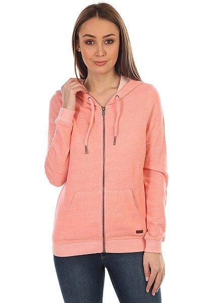 Толстовка классическая женский Roxy Signature Lady Pink<br><br>Цвет: розовый<br>Тип: Толстовка классическая<br>Возраст: Взрослый<br>Пол: Женский
