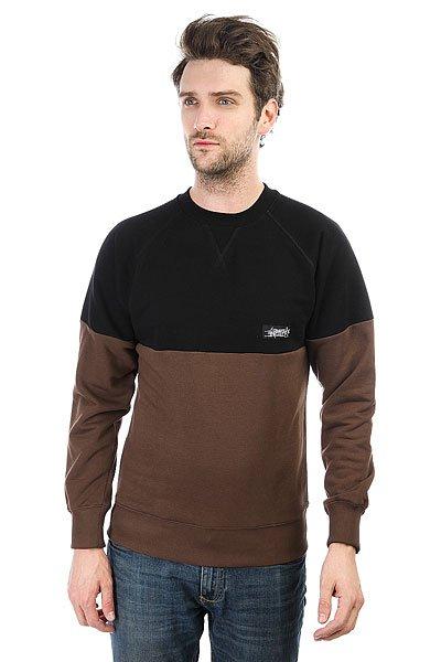 Толстовка свитшот Anteater Cr Combo Brown Light<br><br>Цвет: черный,коричневый<br>Тип: Толстовка свитшот<br>Возраст: Взрослый<br>Пол: Мужской