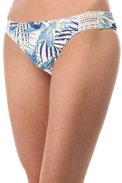 Плавки женские Roxy Sea Lovers Surf Marshmallow Beyond<br><br>Цвет: мультиколор<br>Тип: Плавки<br>Возраст: Взрослый<br>Пол: Женский
