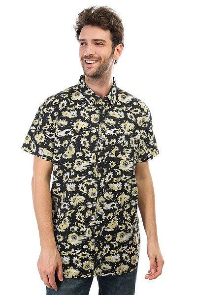 Рубашка Quiksilver Drop Out Anthracite Drop Out<br><br>Цвет: черный,желтый,белый<br>Тип: Рубашка<br>Возраст: Взрослый<br>Пол: Мужской