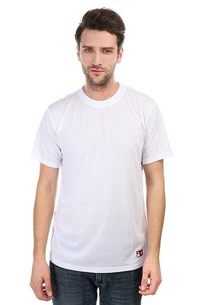 Футболка DC Skate Tech Knit White<br><br>Цвет: белый<br>Тип: Футболка<br>Возраст: Взрослый<br>Пол: Мужской