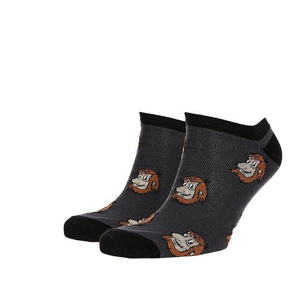 Носки низкие Запорожец Короткие Темно-Серые<br><br>Цвет: мультиколор,серый<br>Тип: Носки низкие<br>Возраст: Взрослый<br>Пол: Мужской