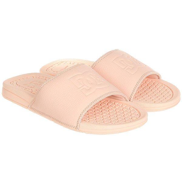 Шлепанцы DC Shoes Bolsa Peach Cream<br><br>Цвет: оранжевый<br>Тип: Шлепанцы<br>Возраст: Взрослый<br>Пол: Женский