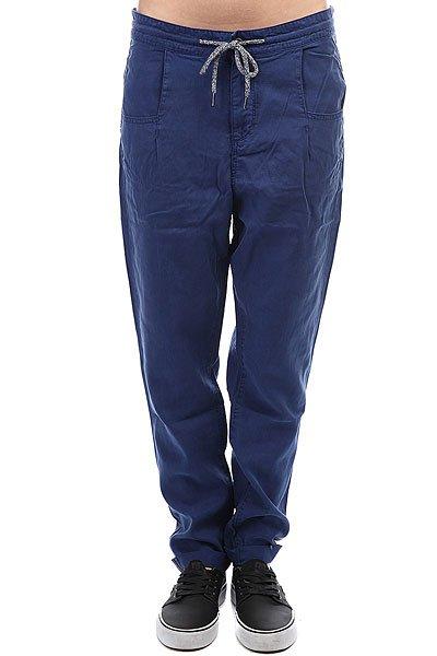Штаны прямые женские Roxy Manoflife Blue Depths<br><br>Цвет: синий<br>Тип: Штаны прямые<br>Возраст: Взрослый<br>Пол: Женский