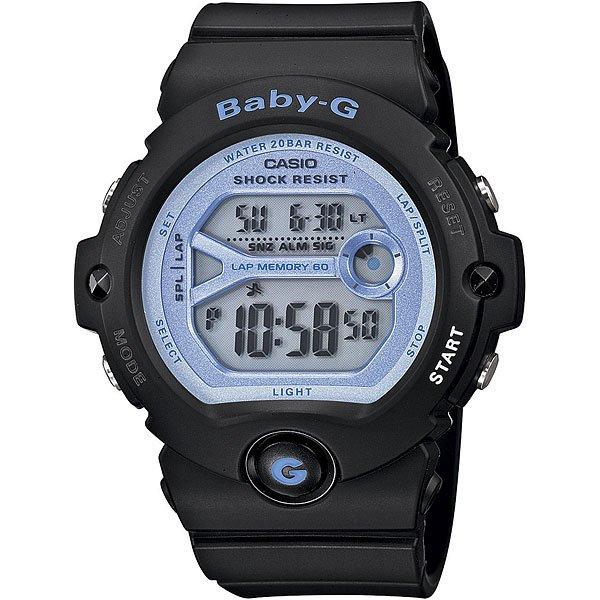 Кварцевые часы женские Casio G-Shock Baby-g 67685 Bg-6903-1bУдаропрочные наручные часы из полимерного пластика созданы для спорта и активной деятельности. Еще один плюс данной модели в длительном сроке службы аккумулятора до 7 лет.Технические характеристики: Электролюминесцентная подсветка.Ударопрочная конструкция защищает от ударов и вибрации.Дополнительный циферблат мирового времени.Функция секундомера - 1/100 сек. - 100 часов.Память на 60 кругов.Таймер - 1/1 мин. - 24 часа (с автоматическим повтором).Будильник с тремя многофункциональными звуковыми сигналами.Функция повтора будильника.Включение/выключение звука кнопок.Автоматический календарь.12/24-часовое отображение времени.Минеральное стекло.Корпус из полимерного пластика.Ремешок из полимерного материала.Срок службы аккумулятора 7 лет.<br><br>Цвет: черный<br>Тип: Кварцевые часы<br>Возраст: Взрослый<br>Пол: Женский