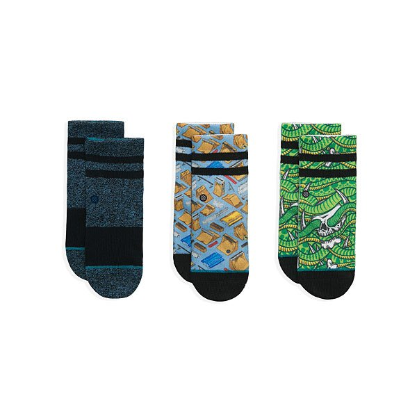 Комплект носков детский Stance Thrasher Box Multi<br><br>Цвет: мультиколор<br>Тип: Комплект носков<br>Возраст: Детский