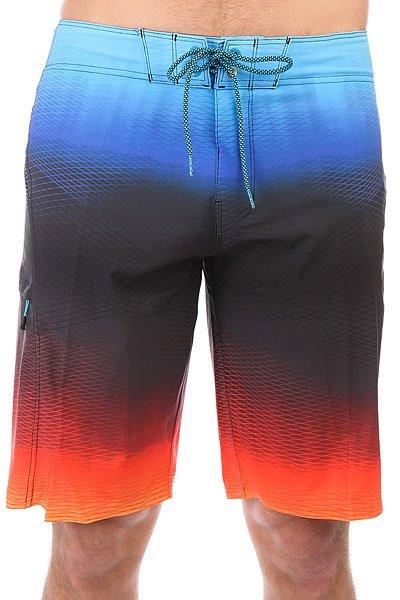 Шорты пляжные Billabong Fluid X 21 Red<br><br>Цвет: оранжевый,черный,синий<br>Тип: Шорты пляжные<br>Возраст: Взрослый<br>Пол: Мужской