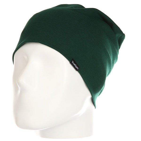 Шапка носок TrueSpin Nearly Plain Dark Green<br><br>Цвет: зеленый<br>Тип: Шапка носок<br>Возраст: Взрослый<br>Пол: Мужской