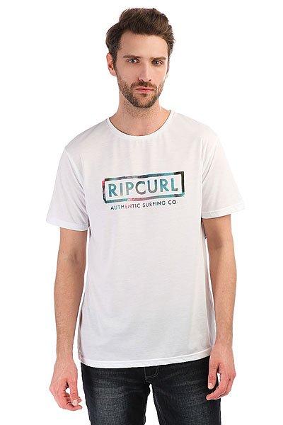 Футболка Rip Curl Authentic Surfing Optical White<br><br>Цвет: белый<br>Тип: Футболка<br>Возраст: Взрослый<br>Пол: Мужской