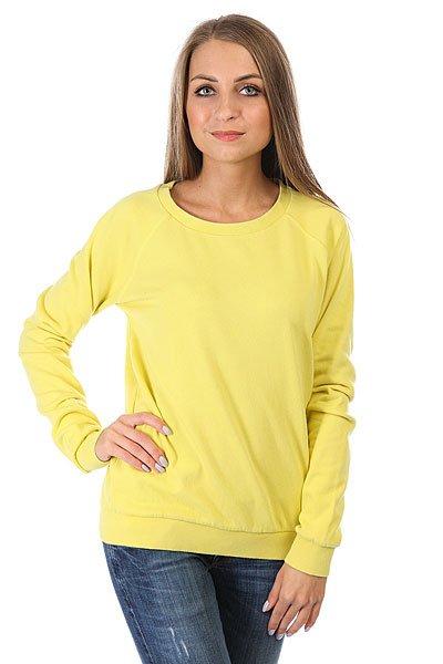 Толстовка классическая женская Billabong Essential Cr Lemongrass<br><br>Цвет: желтый<br>Тип: Толстовка классическая<br>Возраст: Взрослый<br>Пол: Женский