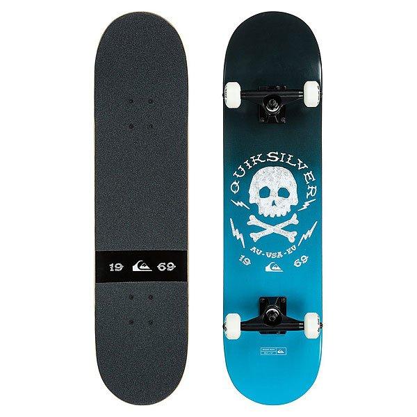 Скейтборд в сборе Quiksilver Ocean Rock 7.8 Blue JewelЛучший комплект для любителей уличного катания. Эта модель рекомендована начинающим райдерам для ежедневного использования по доступной цене.Характеристики:Дека: 7.80 x 30.5.Колеса: 50mm.Подвеска: 5.00.Подшипники: ABEC-7. Шкурка: black.<br><br>Цвет: синий,черный<br>Тип: Скейтборд в сборе<br>Возраст: Взрослый<br>Пол: Мужской