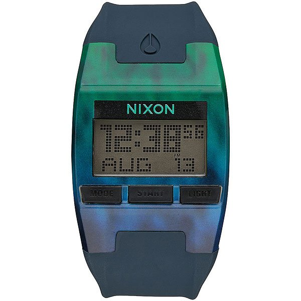 Электронные часы Nixon Comp Ocean Fade<br><br>Цвет: зеленый,серый<br>Тип: Электронные часы<br>Возраст: Взрослый<br>Пол: Мужской