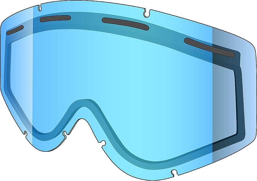 Допоплнительная линза для маски двойная Shred для Soaza 56% Clear BlueДвойная сменная линза для маски SOAZA.Технические характеристики: Двойная цилиндрическая линза.100% защита от UVA UVB UVC.Вентиляционные отверстия.Технология NODISTORTION™ для кристально чистого обзора без искажений на любой высоте.Обработка линз изнутри гидрофобным составом AntiFog.Покрытие NOREFLECT поможет избежать возникновения отражений с внутренней стороны линзы.<br><br>Цвет: голубой<br>Тип: Линза для маски<br>Возраст: Взрослый<br>Пол: Мужской