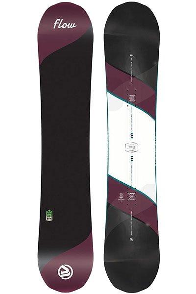 Сноуборд Flow Bella Std 146Новый симметричный сноуборд Bella будет хорошо ездить в любых условиях, а также держать кромку и срезать ее, как ножом. Встаньте на Bella и почувствуйте разницу!Технические характеристики: Прогиб Pop-Cam обеспечивает дополнительное сцепление на льду, лучше плавает в снегу, мягкий и свободный.Технология Kush-Control Plus - предает дополнительные зоны жесткости, абсорбирует вибрации, обеспечивает максимальный контроль над доской.Форма Tru-Twin.Стекловолокно с углеродом Biaxial Glass w/ Carbon-7.Скользяк Sintered 4000 - очень прочный скользяк для легкого скольжения и высокой производительности.Сердечник Re-Flex - живой и отзывчивый сердечник с оптимальным балансом прочности и веса. Изготовлен из нескольких видов тополя, стабильный, супер легкий и энергичный.Боковины 3-DT дают неограниченное сцепление для гладкой и гибкой езды.<br><br>Цвет: черный,фиолетовый<br>Тип: Сноуборд<br>Возраст: Взрослый<br>Пол: Мужской