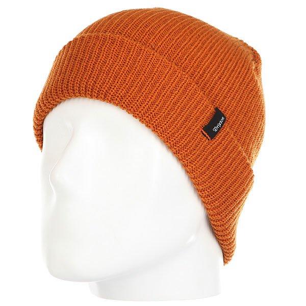Шапка Fred Perry Heist Beanie Burnt Orange<br><br>Цвет: Темно-оранжевый<br>Тип: Шапка<br>Возраст: Взрослый<br>Пол: Мужской