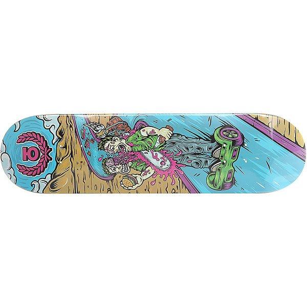 Дека для скейтборда для скейтборда Юнион Gyrd Multi 31.75 x 8.125 (20.6 см)Ширина деки: 8.125 (20.6 см)    Длина деки: 31.75 (80.6 см)    Количество слоев: 7  При покупке сейчас Вы получите подарок: Шкурка для скейтборда Юнион Logo Grip Black (One Size)<br><br>Цвет: мультиколор<br>Тип: Дека для скейтборда