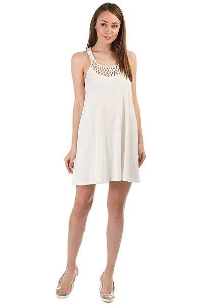 Платье женское Billabong Great Views Cool Wip<br><br>Цвет: белый<br>Тип: Платье<br>Возраст: Взрослый<br>Пол: Женский