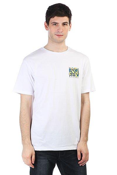 Футболка Rip Curl Live Your Search Tee Optical White<br><br>Цвет: белый<br>Тип: Футболка<br>Возраст: Взрослый<br>Пол: Мужской