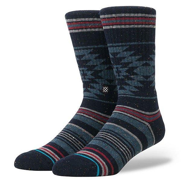 Носки средние Stance Reserve Bozeman Blue<br><br>Цвет: черный,мультиколор<br>Тип: Носки средние<br>Возраст: Взрослый<br>Пол: Мужской