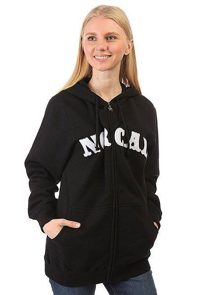 Толстовка классическая женская Nor Cal Nautical Black<br><br>Тип: Толстовка классическая<br>Возраст: Взрослый<br>Пол: Женский
