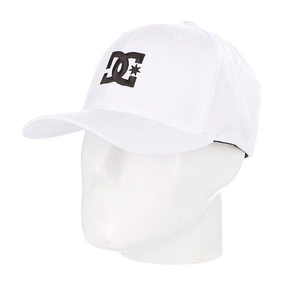 Бейсболка Flexfit DC Cap Star 2 Flexfit White