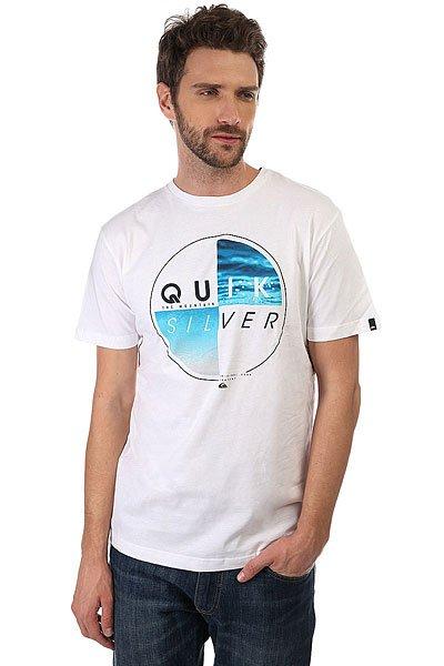 Футболка Quiksilver Blazed White